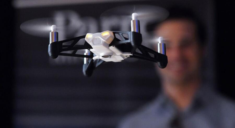 Efterspørgslen efter droner til private er stigende.