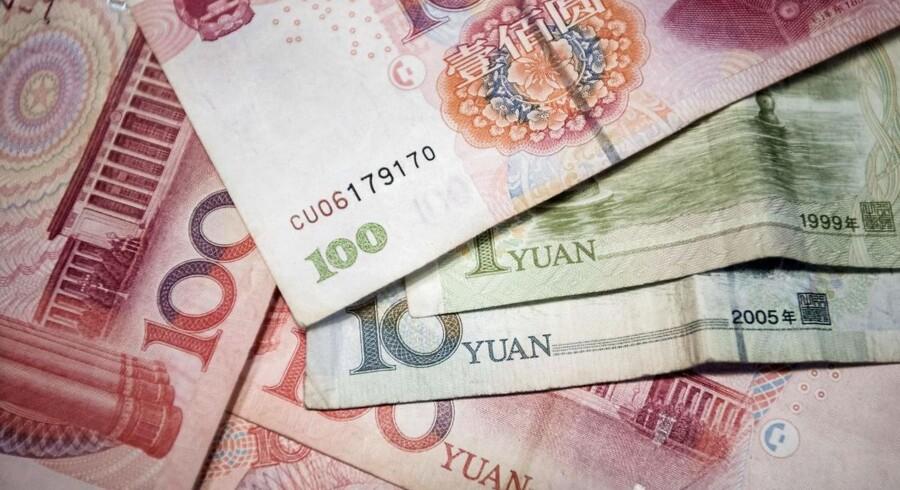 En kinesisk mand har tilstået, at det er ham, som har dræbt 19 mennesker i en landsby efter et skænderi med sine forældre om penge.. / AFP PHOTO / FRED DUFOUR