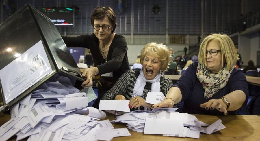 Det britiske valgresultat overraskede alle undtagen partierne selv, der siger, at de var langt grundigere end de upartiske målinger.