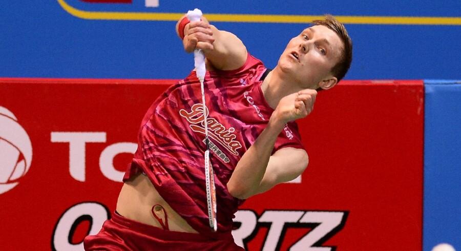 Viktor Axelsen vandt OL-bronze sidste år i Rio og har i flere år spillet med i verdenstoppen. Scanpix/Sajjad Hussain