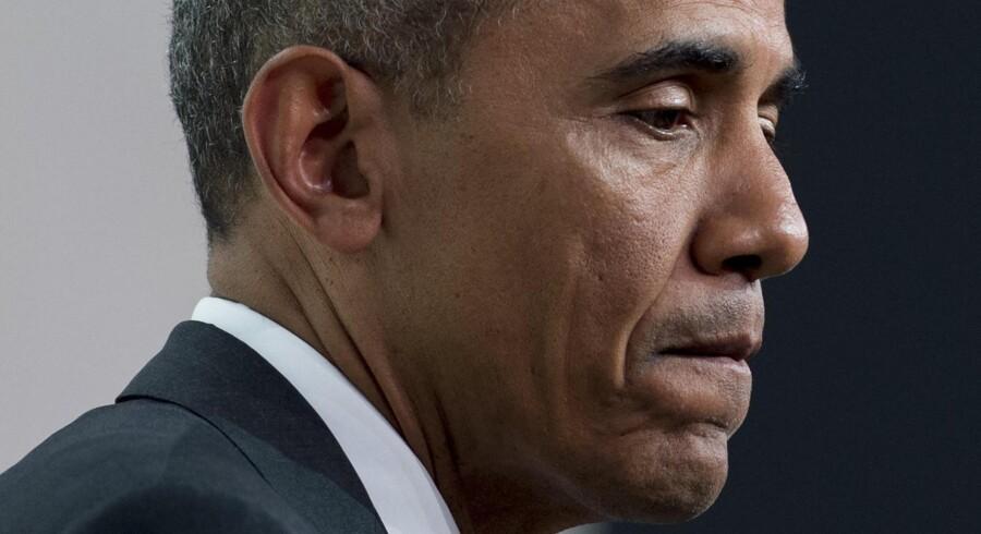 Barack Obama luftede sin bekymring over de mystiske hændelser i Belgien på det netop overståede atomtopmøde i Washington.Foto: Saul Loeb