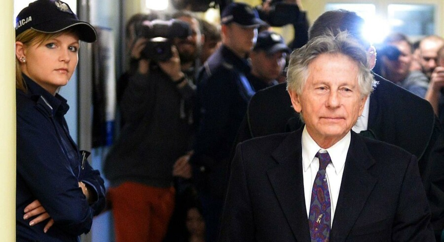 Roman Polanski under retssagen.