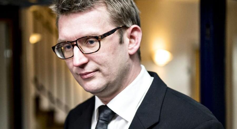 Arkivfoto. Troels Lund Poulsen får nu en næse for sin rolle i sagen om læk af fortrolige oplysninger i Helle Thorning-Schmidts (S) skattesag.