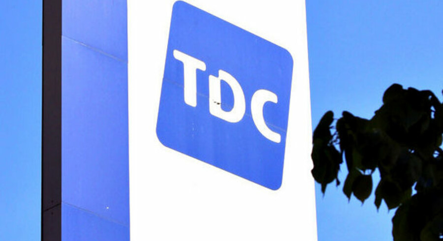 TDCs relativt nye koncernchef fremlægger onsdag sit første halvårsregnskab. Foto: Brian Bergmann, Scanpix