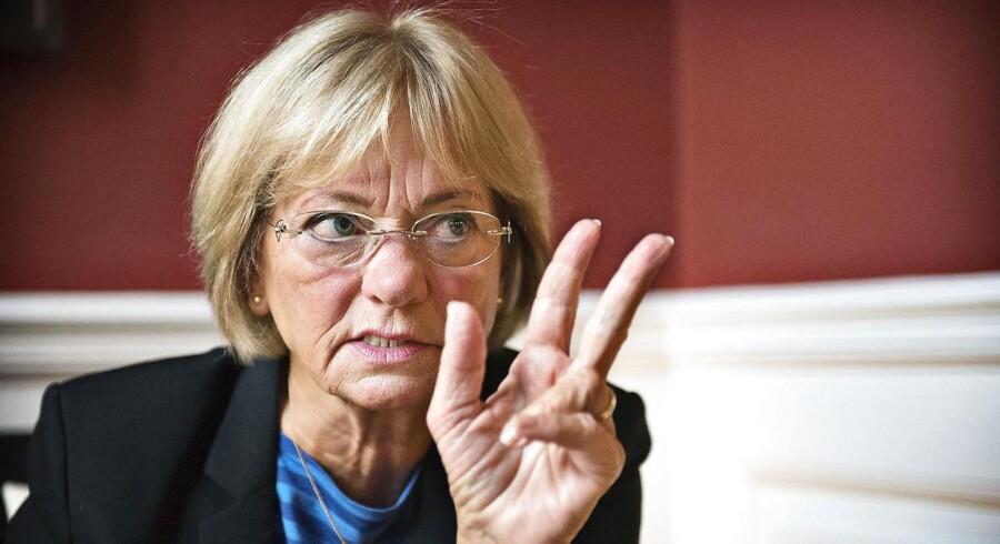 Folketingets formand Pia Kjærsgaard (DF).