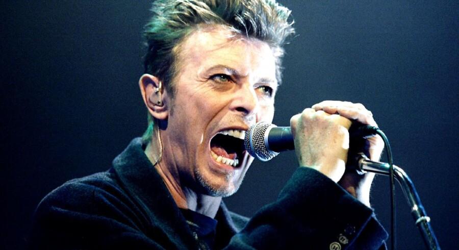 ARKIVFOTO fra 1996 af David Bowie