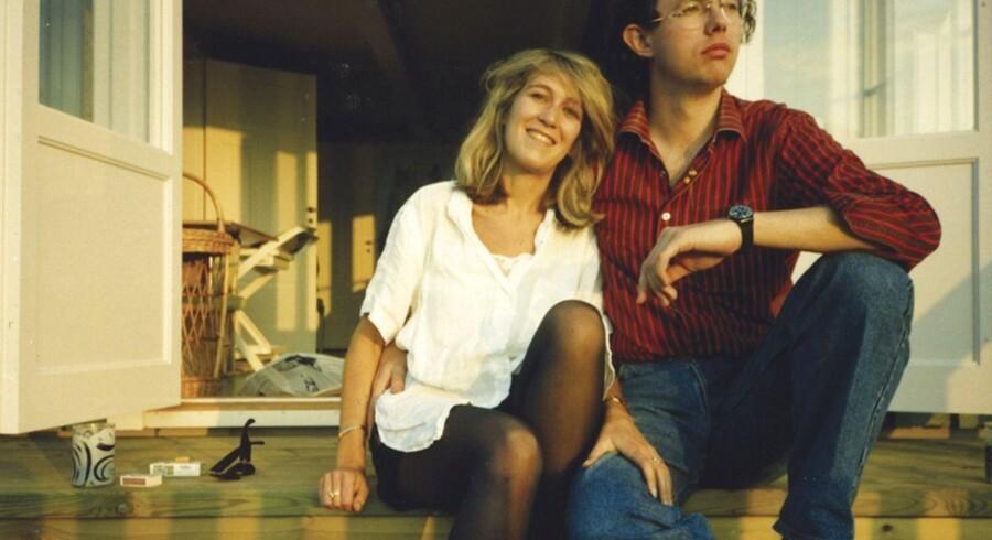 Eva Louise Kemeny Rausing og Hans Kristian Rausing på et udateret fotografi.