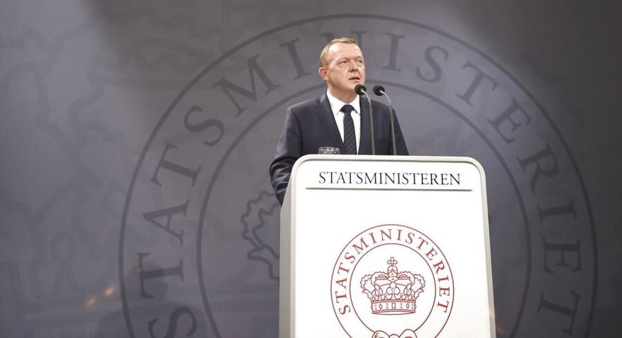 Lars Løkke er tilbage i Statsministeriet og præsenterede søndag middag regeringsgrundlaget.