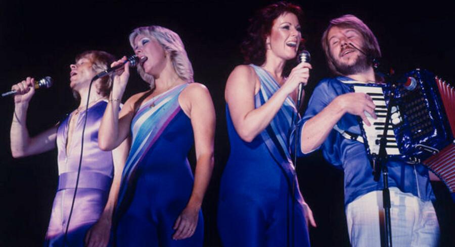 ABBA kommer nu også til Playstation, så man selv kan synge med hjemme i stuerne. Foto: Claus Poulsen, Scanpix