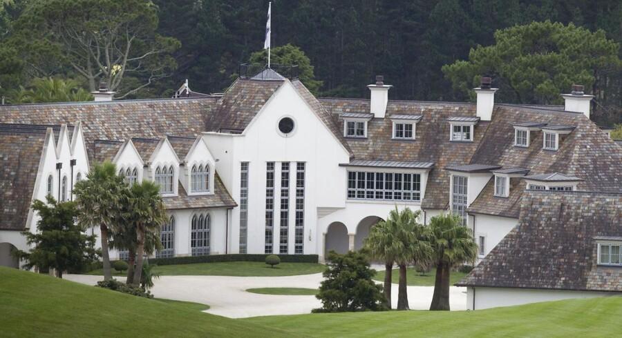 The Dotcom Mansion anses for at være en af de dyreste ejendomme i New Zealand.