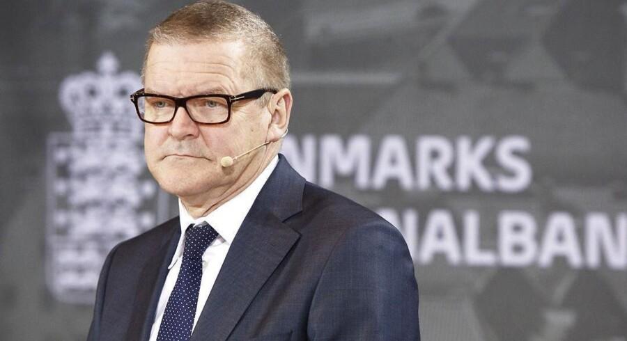 Nu griber Nationalbanken og nationalbanksdirektør Lars Rohde ind for at undgå den frygtede minusrente. Foto: Jonas Skovbjerg Fogh/Scanpix