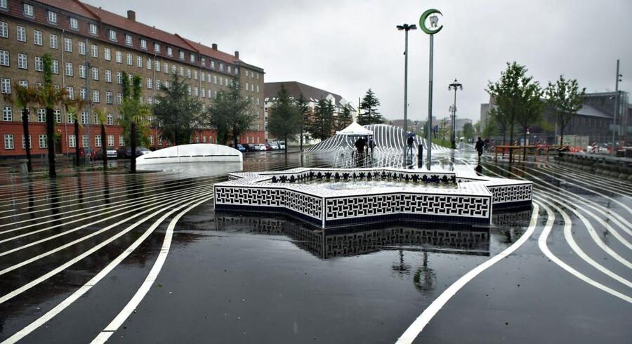 Superkilen på Nørrebro - et eksempel på den Københavnske byplanlægning.