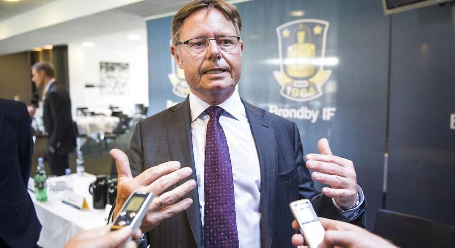 Jesper Møller, ny bestyrelsesformand Brøndby IF.