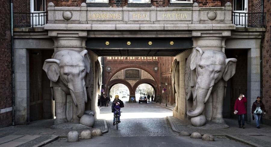 Elefantporten ved Carlsberg Byen