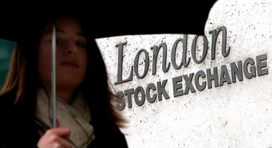 Børsen i London skifter IT-system for at få hurtigere handeler. Foto: Andy Rain, EPA/Scanpix