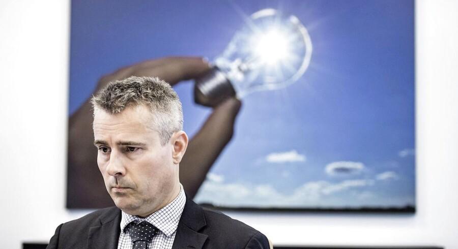 Arkivfoto: Partiets gruppeformand, Henrik Sass Larsen, vil slå DSB og Banedanmark sammen.