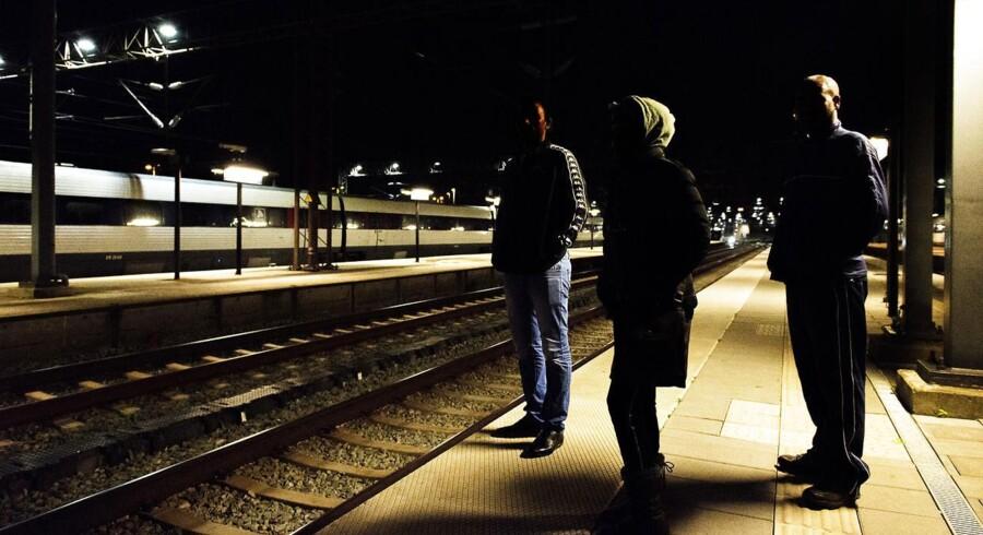 Arkivfoto.Tre flygtninge fra Eritrea, der opholder sig i Danmark og håber på asyl.