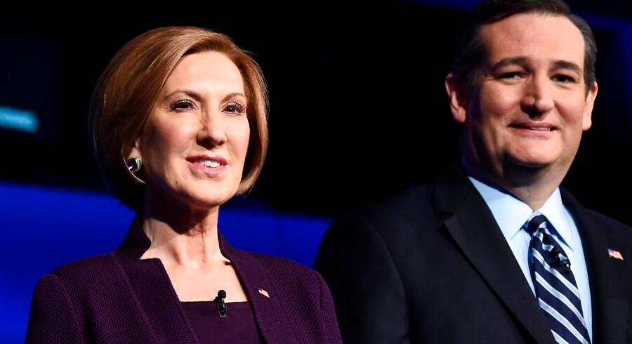 Den republikanske præsidentkandidat Ted Cruz bekræfter sent onsdag aften dansk tid, at han har udpeget den tidligere erhvervsleder Carly Fiorina som sin vicepræsidentkandidat, hvis han vinder partiets nominering.