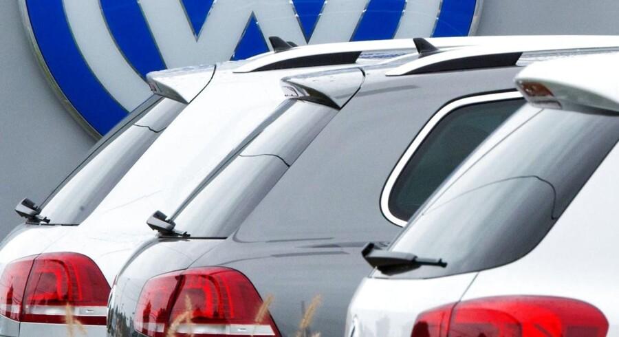 Volkswagen oplyser, at der ikke bliver giver erstatning til folkevognsejere.