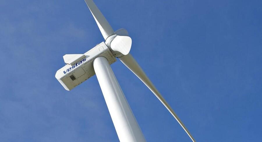 Vindmølleproducenten Vestas benytter big data til at beregne, hvor det er bedst at sætte vindmøller op, og hvordan møllerne skal konstrueres. Foto: Henning Bagger.