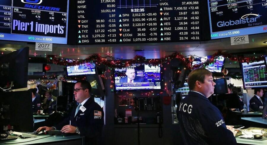 2015 har generelt været et hårdt år i USA både for antallet af børsintroduktioner og for de selskaber, der blev introduceret, er værdien i de fleste tilfælde faldet i forhold til den oprindelige vurdering.