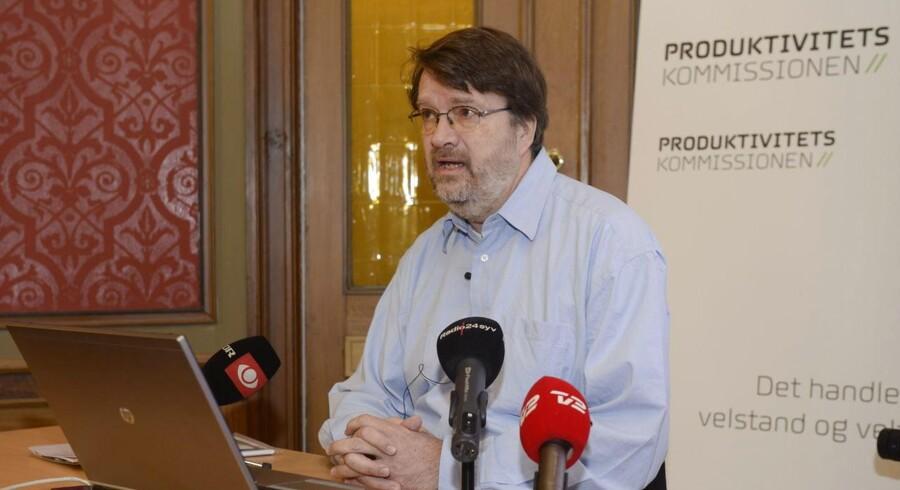Produktivitetskommissionen med Peter Birch Sørensen i spidsen fremlægger sin rapport