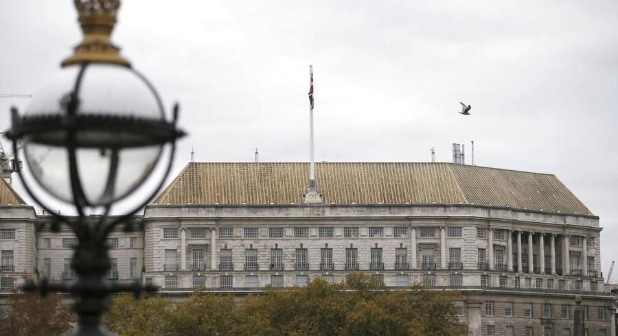 Thames House, MI5's hovedkvarter.
