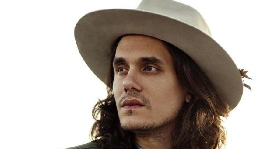John Mayer ligner måske en stor countrykunstner, men lyder ikke sådan. Foto: PR-foto.