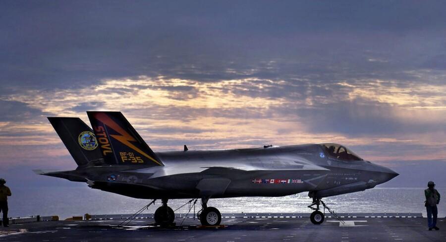 En af de forbigåede kampflykandidater Boeing mener, at Kampflykontor har beregnet forkert pris på fly. (Foto: HO/Scanpix 2016)