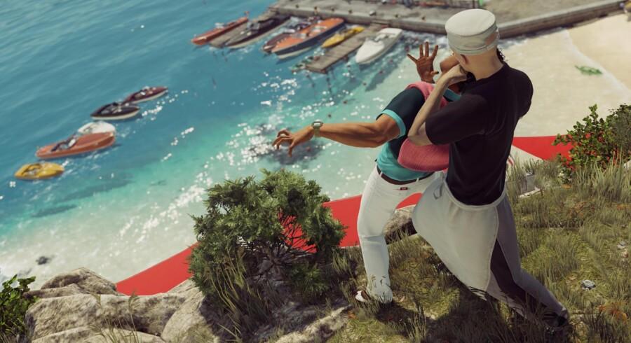 Den nye Hitman-serie er farverigt og indbydende lavet. Missionen foregår i den italienske badeby Sapienza, hvor et stort hus danner hovedrammen. Huset er omgivet af strand, golfbane, landsby, underjordiske gange og meget andet.