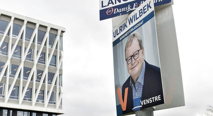 Spiller du 100 kroner hos Unibet på, at Ulrik Wilbek (V) bliver Viborgs næste borgmester, tjener du, som oddset er lige nu, 33 kroner på det.
