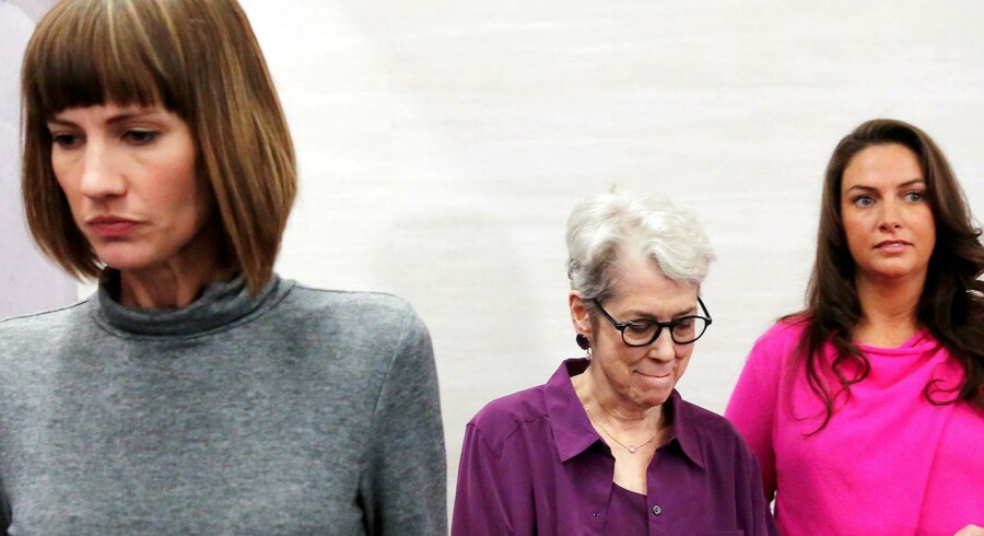 Rachel Crooks Jessica Leeds og Samantha Holvey tror ikke, at præsidenten vil træde tilbage på grund af beskyldningerne.