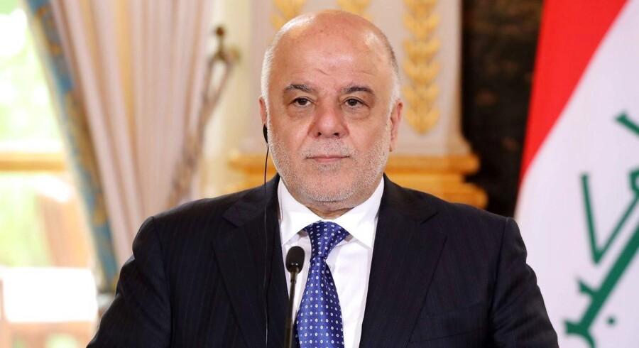 »Vore styrker har fuld kontrol over grænsen mellem Irak og Syrien. Derfor kan jeg nu erklære krigen mod Daesh (Islamisk Stat, red.) for slut,« siger Haider al-Abadi på en konference i Bagdad ifølge det franske nyhedsbureau AFP.