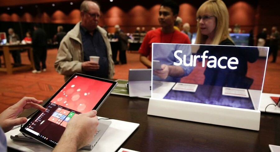 Microsofts Surface-tablet