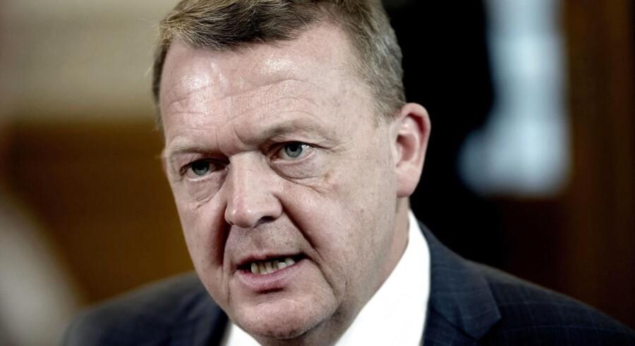 Statsminister Lars Løkke Rasmussen (V)