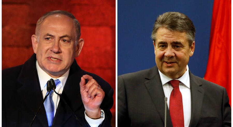 Israels premierminister Benjamin Netanyahu har aflyset et møde med Tysklands udenrigsminister Sigmar Gabriel.