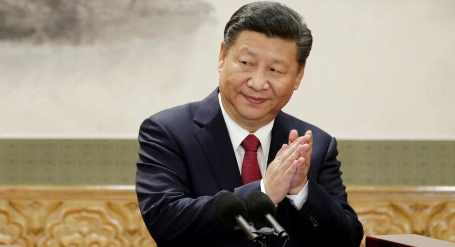 »Med den økonomiske fremgang, der har været i Kina de seneste 20 år, er det også klart, at Xi Jinping har finanserne til at gennemføre en oprustning, så det kinesiske militær bliver det mest slagkraftige i Asien.«
