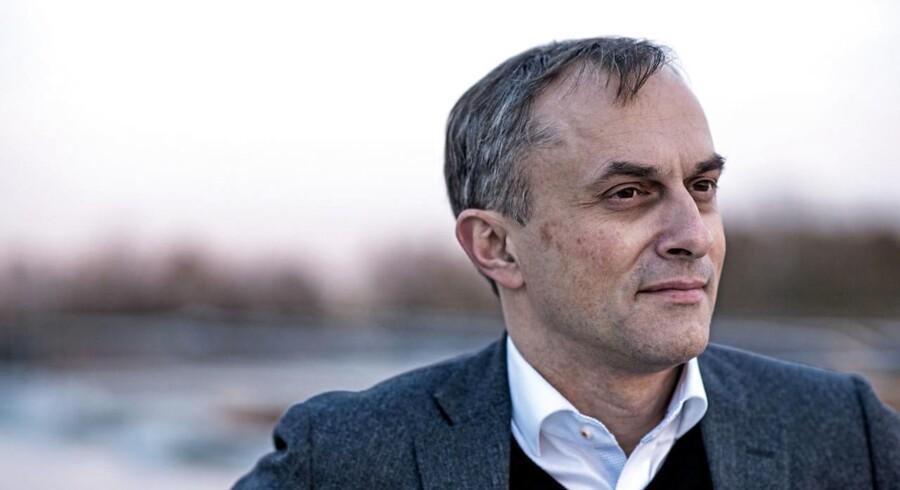 Den konservative borgmester i Høje Taastrup, Michael Ziegler, fotograferet den 20 november 2013.