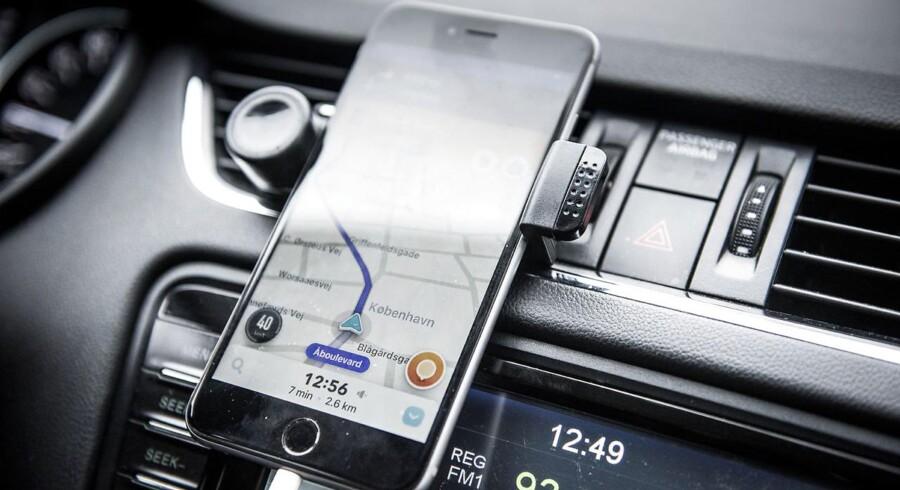 Efter Ubers exit: En ny app er meldt til politiet.