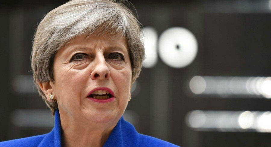 Arkivfoto. Theresa May. AFP Photo /