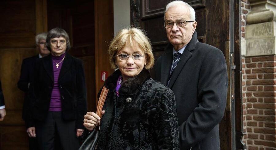 Pia Kjærsgaard og Henrik Thorup.
