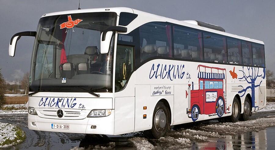 En belgisk turistbus blev stjålet i tidsrummet mellem kl 22.00 tirsdag aften og kl 07.00 onsdag morgen. Tyveriet fandt sted i Ingerslevsgade på Vesterbro i København. Københavns Politi har ikke indikationer på, at der er tale om andet end et simpelt brugstyveri af et køretøj.
