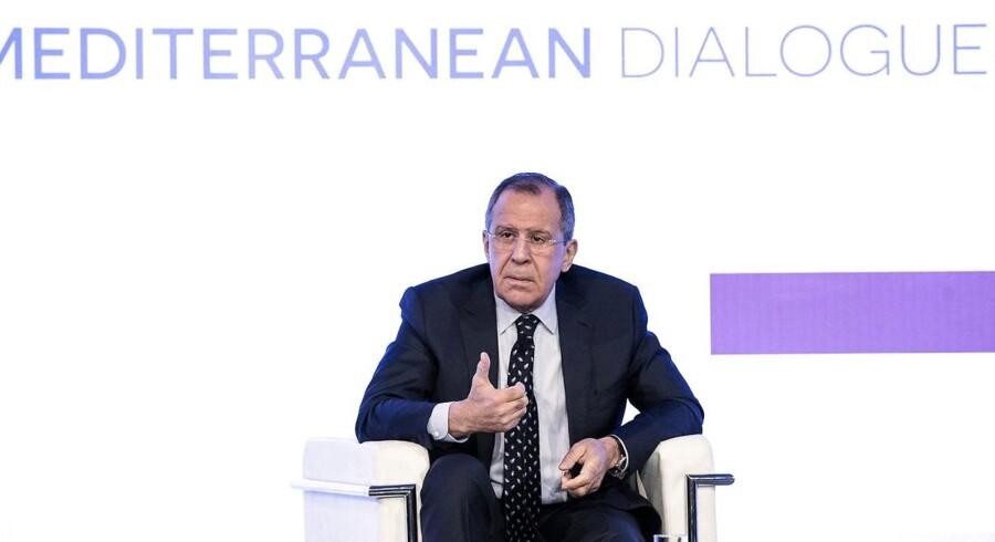 Arkivfoto: Ruslands udenrigsminister, Sergej Lavrov, siger, at landet er parat til at drøfte mulighederne for at reducere antallet af atomvåben.
