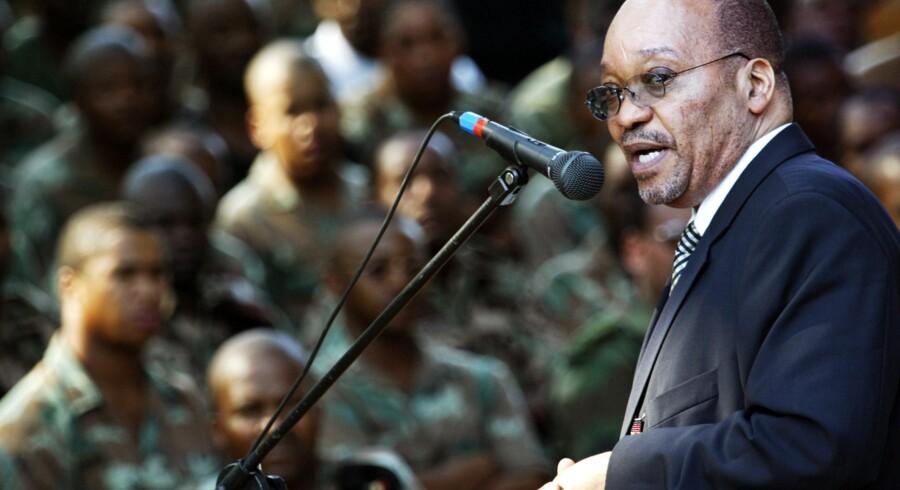 To kandidater er udpeget til at overtage posten som Sydafrikas leder efter Jacob Zuma. Foto: MARCO LONGARI