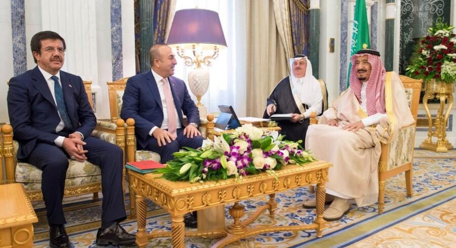 Kongefamilien i Saudi-Arabien er meget magtfuld. Det gælder dog ikke for de mange hundrede medlemmer, der ikke hører til i toppen af familiehierakiet. Reuters/Handout