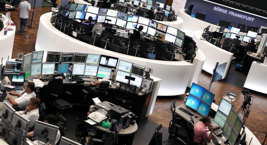Arkivfoto. Investorerne har lagt mange af bekymringerne over spændingerne mellem USA og Nordkorea på hylden tirsdag, og det kan ses på både obligations- og aktiemarkedet.