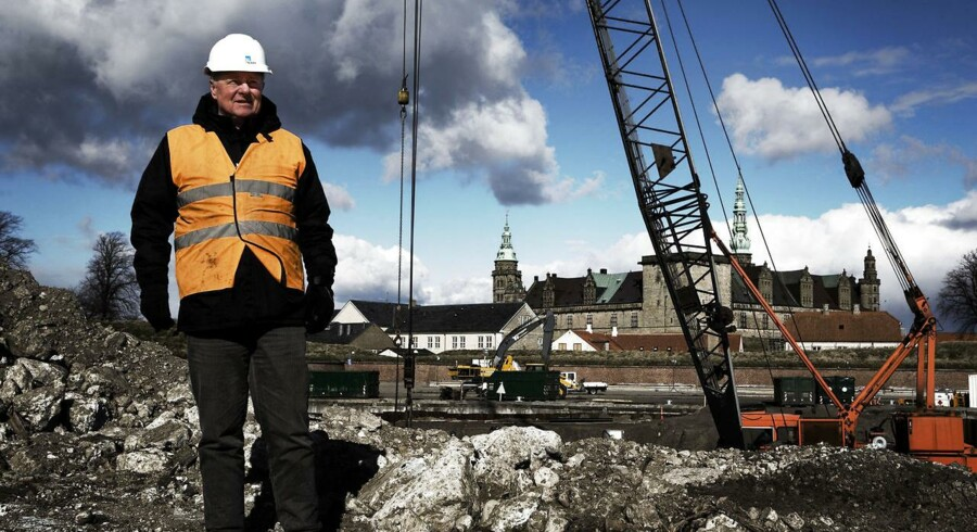 ARKIVFOTO: Medlem af Region Hovedstaden Per Tærsbøl (K) mens han stadig var borgmester i Helsingør.