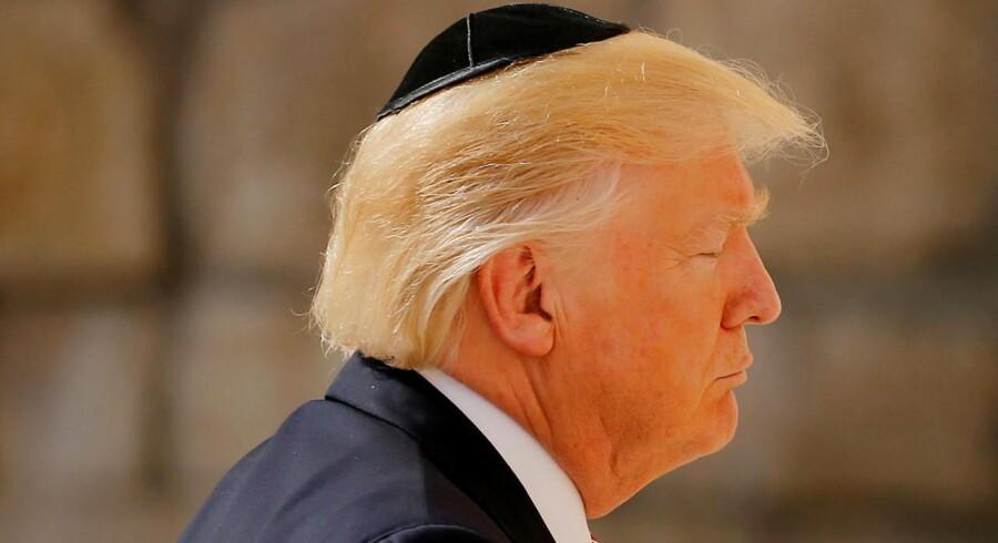 ARKIVFOTO: USA åbner sin ambassade i Jerusalem i maj, samtidig med fejringen af 70-års-dagen for staten Israels oprettelse.