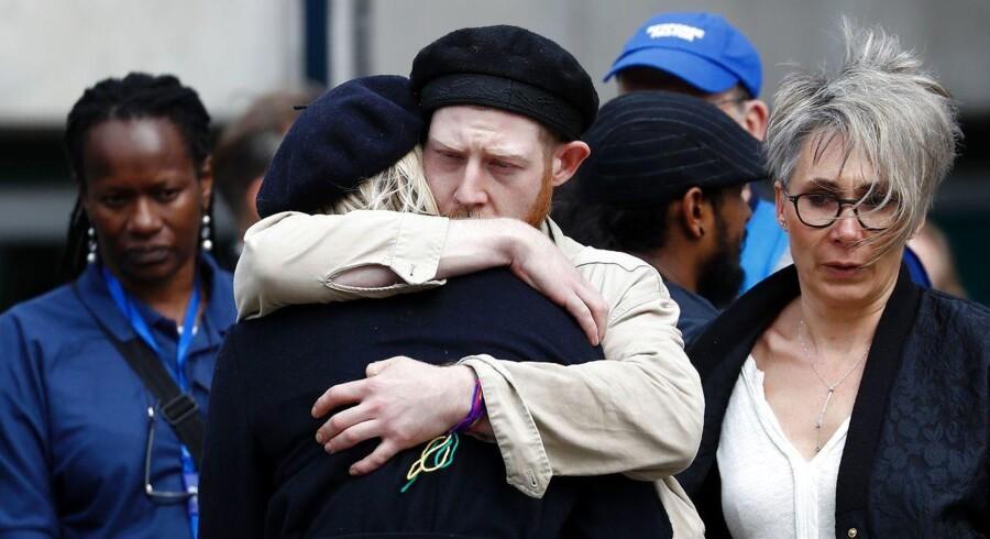 Storbritannien er blevet udsat for det tredje terrorangreb siden slutningen af marts. Ingen ved, hvordan det vil indvirke på resultatet på torsdag, når briterne går til valg. Foto: Odd Andersen/AFP