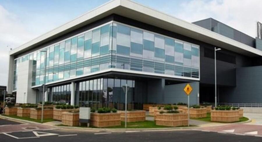 Her i Microsofts datacenter i Dublin i Irland ligger de omstridte data, som Microsoft nægter at udlevere trods dommerkendelser i USA. Arkivfoto: Microsoft